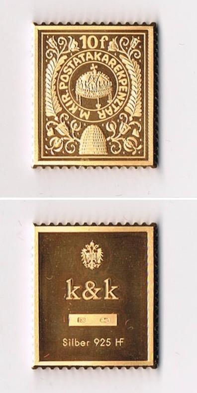 http://www.belyegerem.hu/belyegerem-egyeb/1988-k-und-k-belyegerem-10-filler-magyar-kiralyi-posta-sterling-silver-24k-gold-plated/1988-k-und-k-belyegerem-10-filler-magyar-kiralyi-posta-sterling-silver-24k-gold-plated_01.jpg